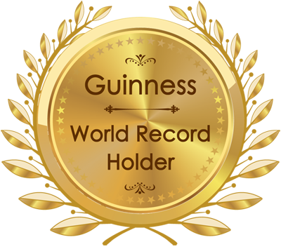 Guinness World Record Holder