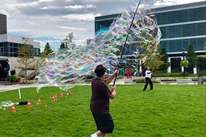 Largest Soap Bubble Net - Team Record (2019)